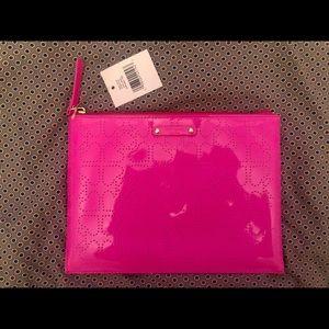 🔴2 for $50🔴 Clutch/Envelope Bag - Hot Pink